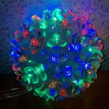 Эксклюзивный светодиодный LED шар с насадками в виде цветов Led Light, Количество ламп: 500