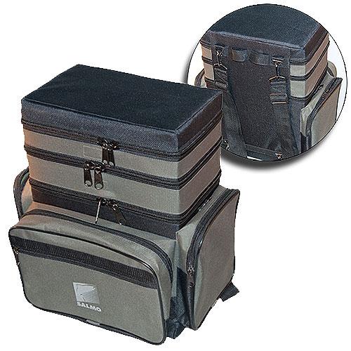 Ящик рюкзак рыболовный зимний Формула рыбалки 3-х ярусный B-3LUX