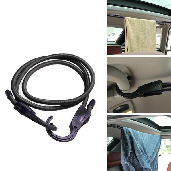 Ремень для стяжки груза Vehicle Luggage Rope (цвет чёрный)