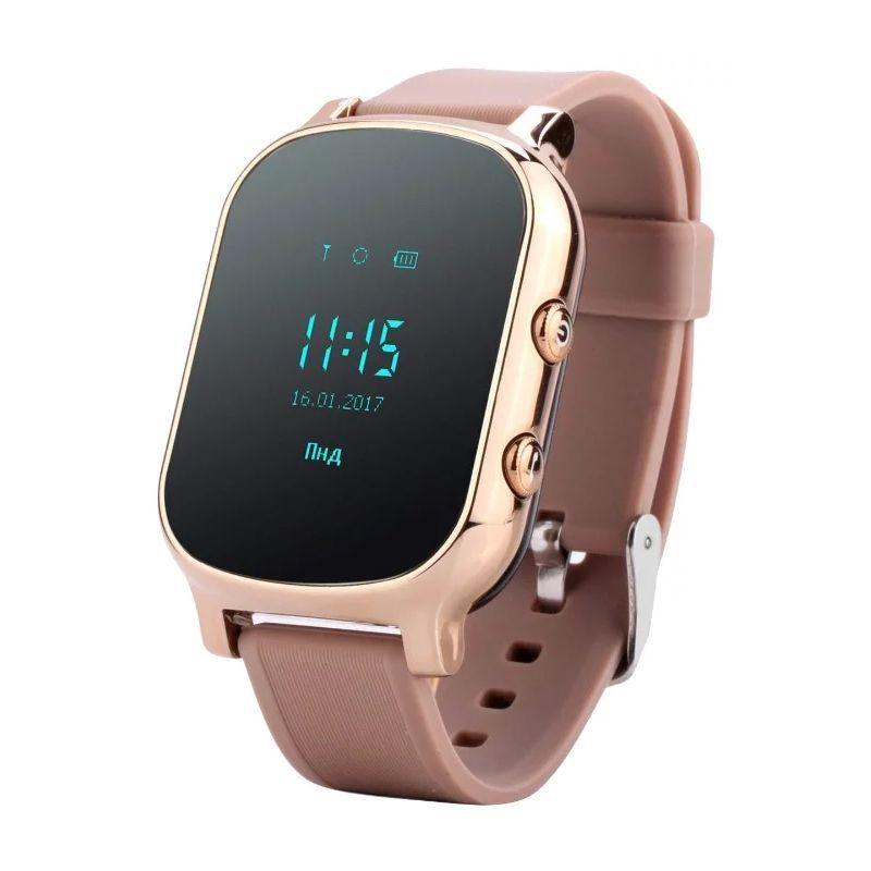 Часы С Трекером Smart GPS Watch T58, Цвет Золотистый
