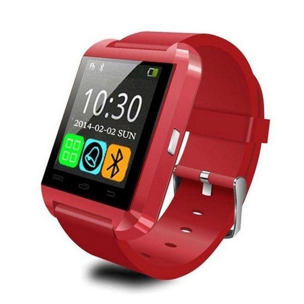 Умные Часы Smartwatch U8, Цвет Красный