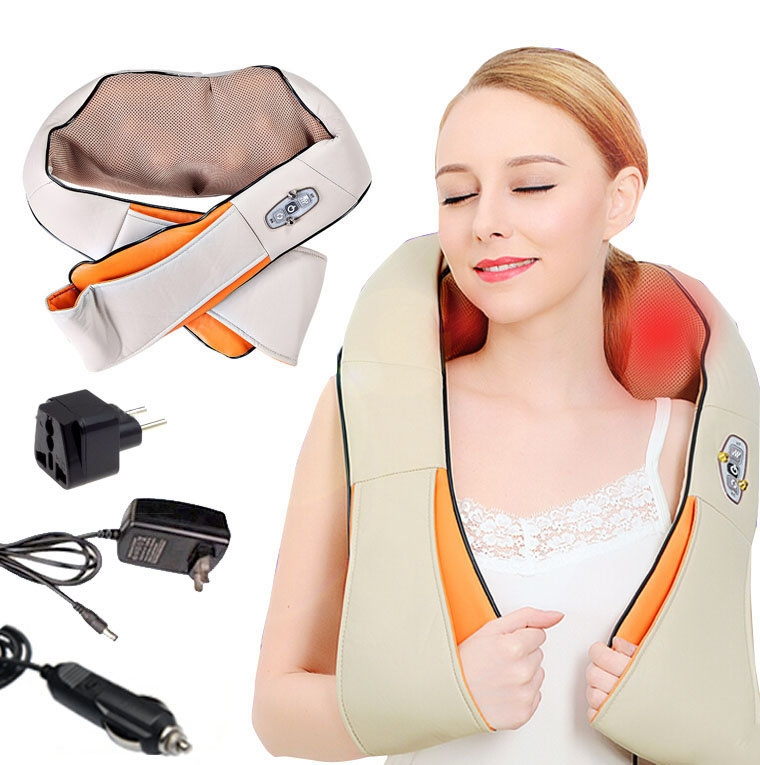 Массажер с ИК-прогревом Massager of Neck Kneading
