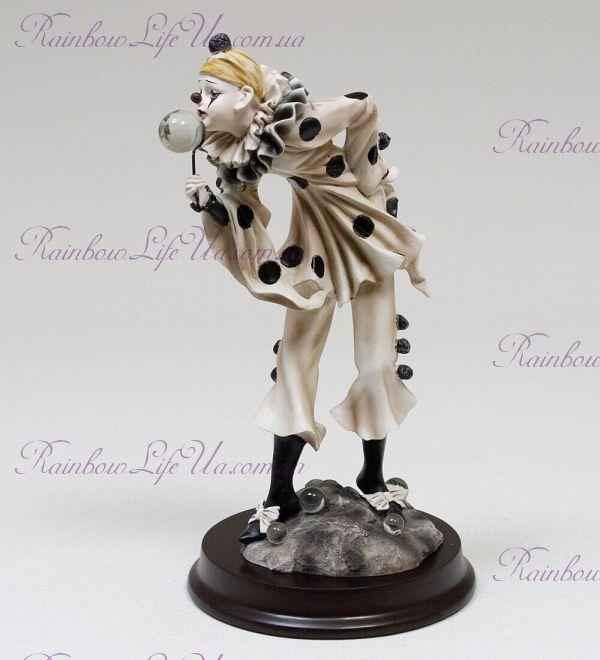 """Статуэтка Клоун с мыльным шаром """"Euro Artista"""""""