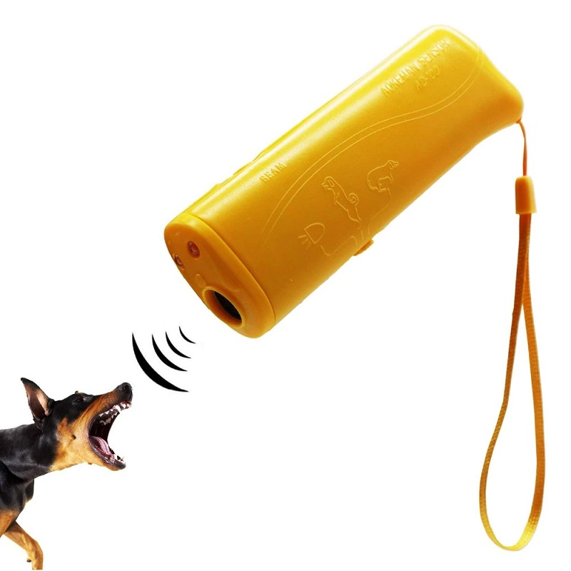 Ультразвуковой отпугиватель собак (цвет жёлтый)