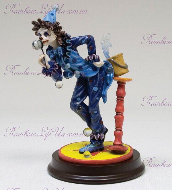 "Статуэтка Клоун и мыльный шарик ""Euro Artista"""