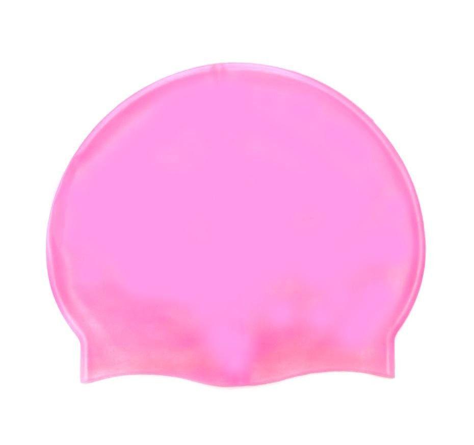 Силиконовая Шапочка Для Плавания Afiter, Цвет Розовый