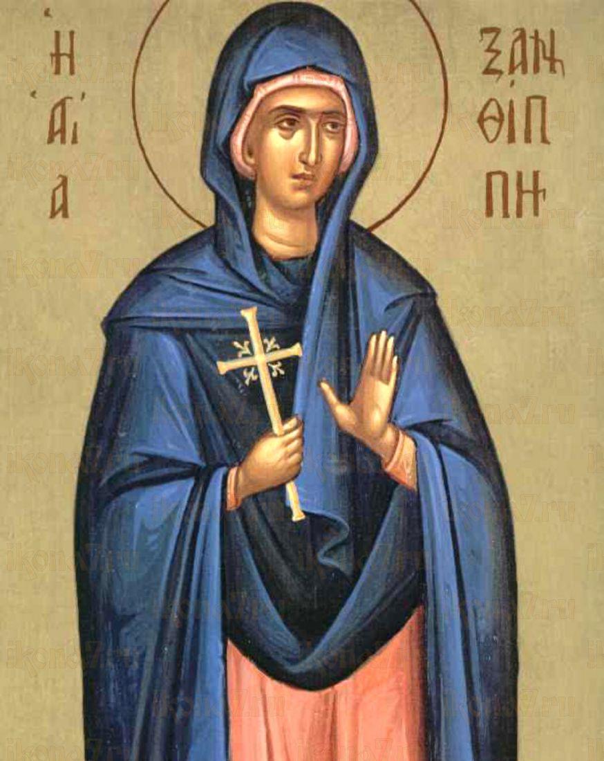 Икона Ксанфиппа Толедская преподобный