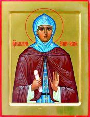 Икона Ксения Тверская благоверная княгиня