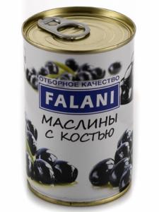 Маслины черные 280 гр с/к ж/б Mdeo