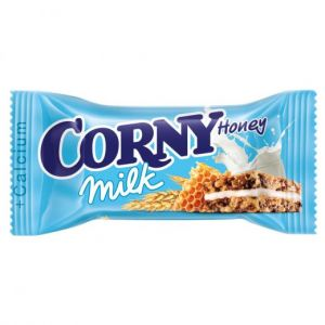 Злаковые полоски 30 гр молоко/мед CORNY