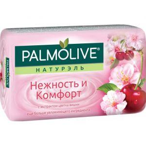 Палмолив мыло Натурэль Нежность и комфорт Цветок вишни 90г /72
