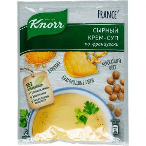 Обед сухой Кнорр Чашка супа, сырный крем-суп по-французски 0,048 кг