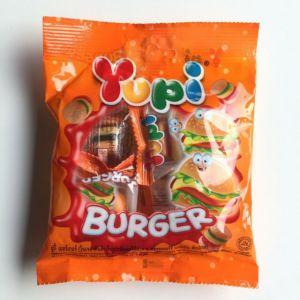 Жевательные конфеты Yupi Burger 104г
