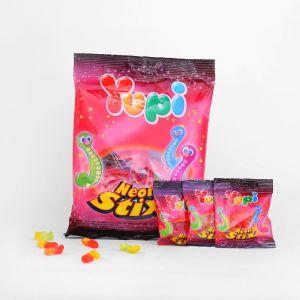 Жевательные конфеты Yupi Worms (Neon Stick) 120г
