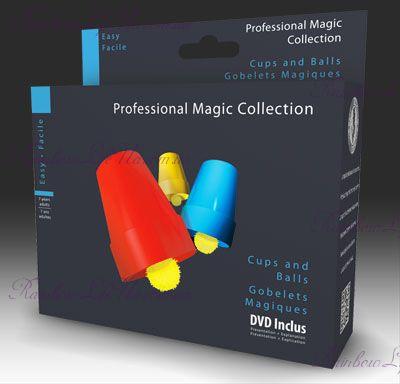 """Фокусный набор Стаканы и шары с DVD """"OID Magic"""""""