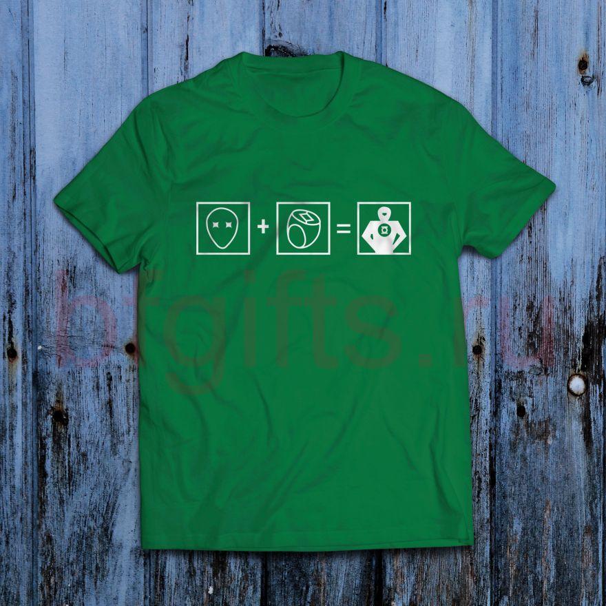 Футболка Зеленый фонарь