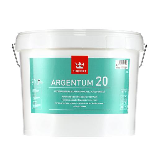 Аргентум 20 краска антимикробная полуматовая A 9л 64V60010160