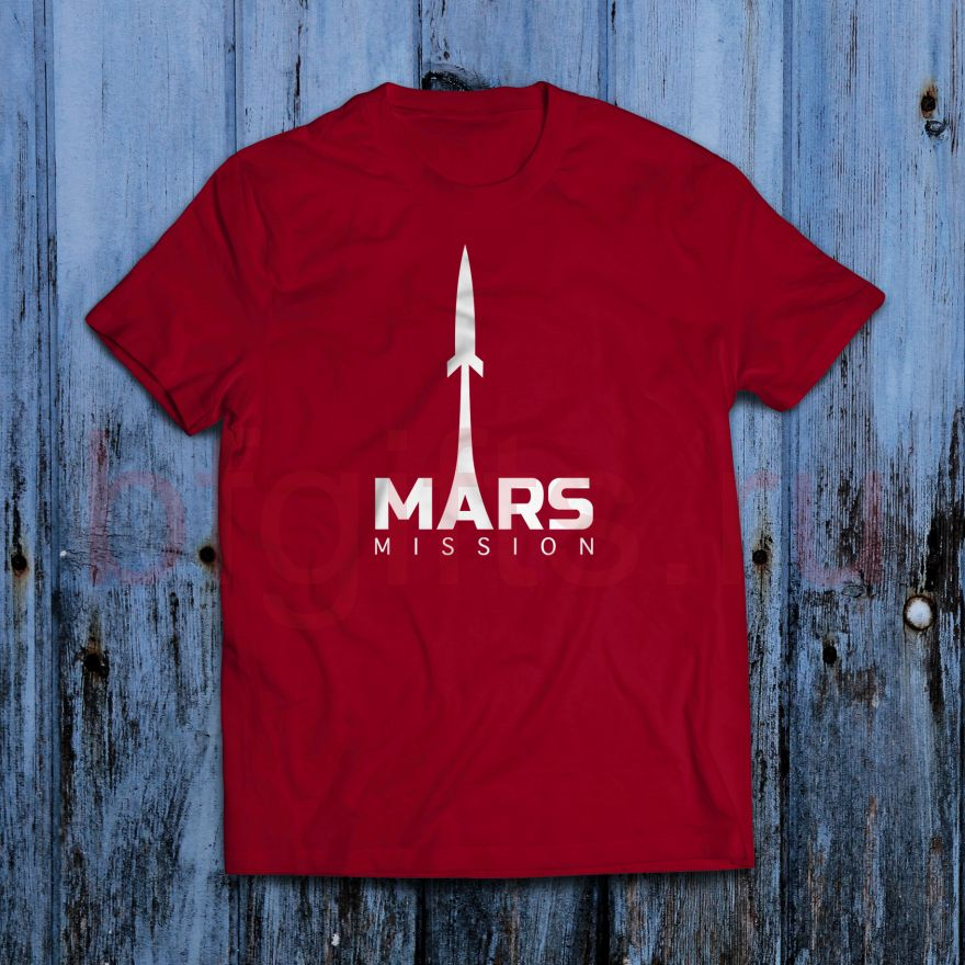 Футболка Миссия на Марс