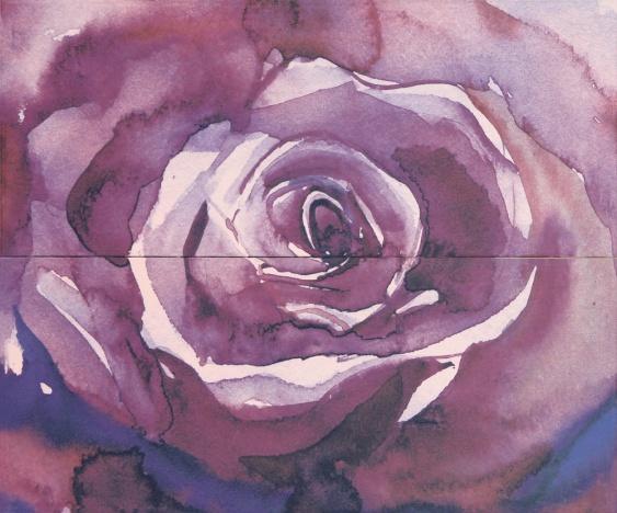 Arabeski purple panno 02
