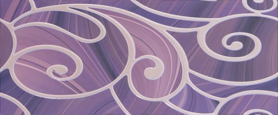 Arabeski purple decor 01