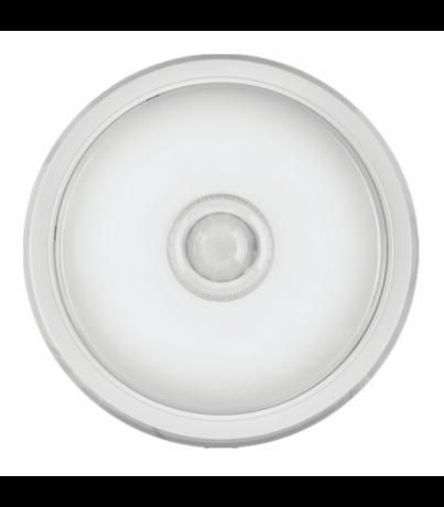 Сенсорный светильник с датчиком 5Вт белый корпус OBL-R1-5-4K-WH-IP40