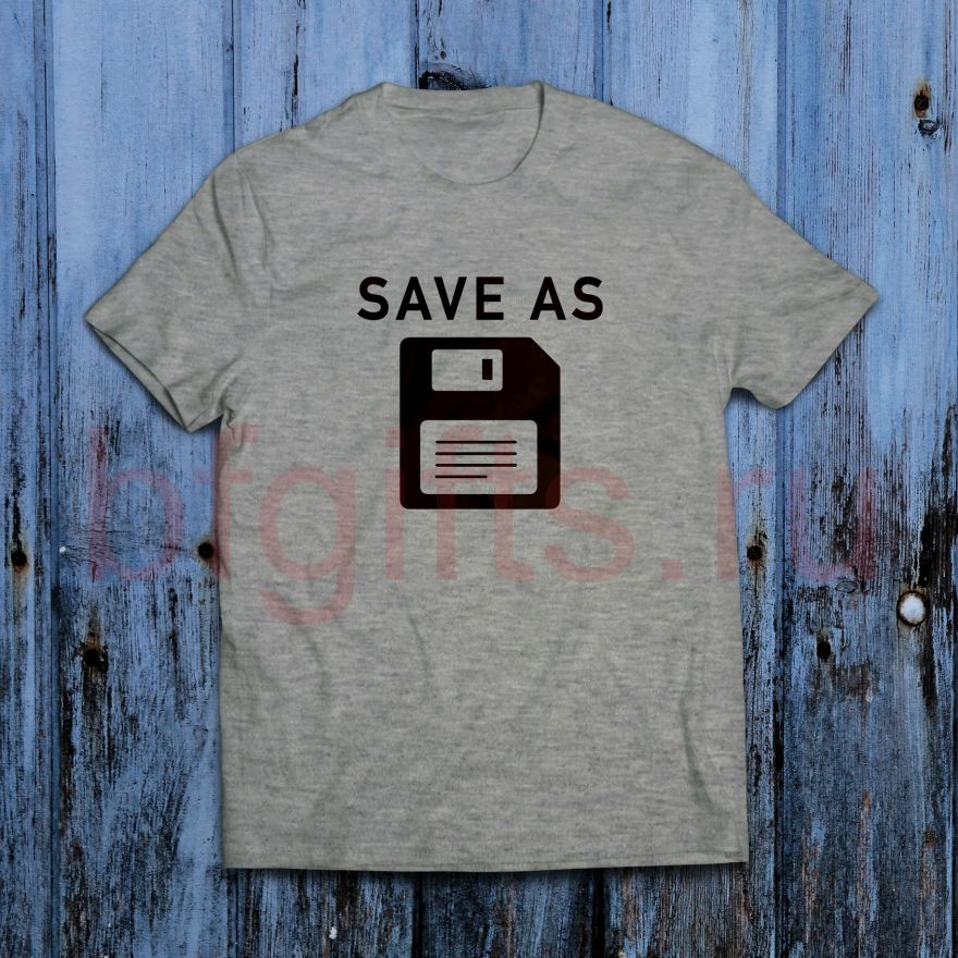 Футболка Save as