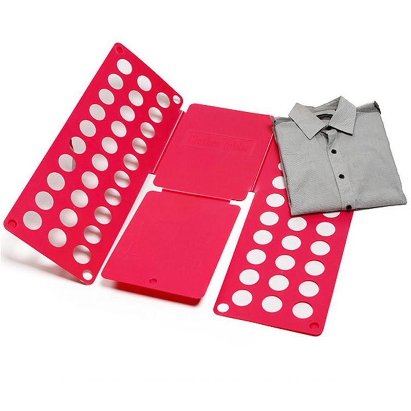 Рамка Для Складывания Взрослой Одежды Clothes Folder, Цвет Красный