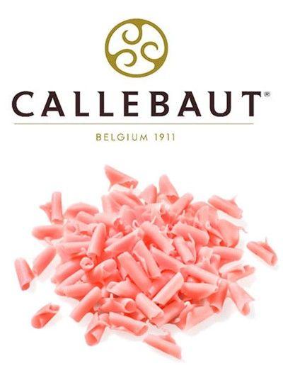 Шоколадная стружка Розовая Callebaut, 60гр.