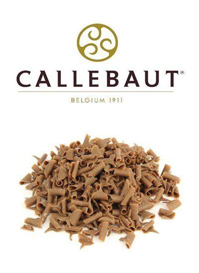 Шоколадная стружка молочная Callebaut, 60гр.