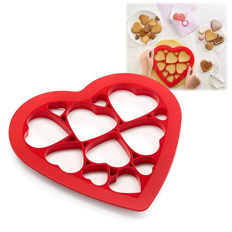 Форма для печенья Сердечки