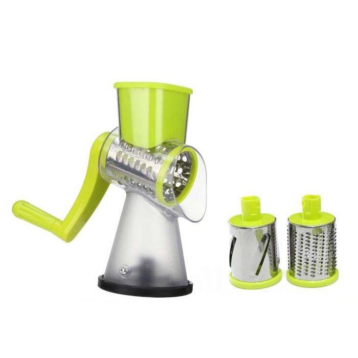 Мультислайсер для овощей и фруктов Household Rotary Cutting Machine (цвет зеленый)
