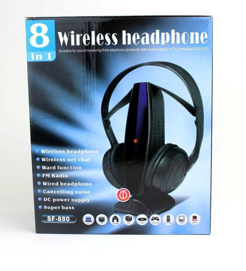 Беспроводные Наушники Wireless Headphone 8-In-1