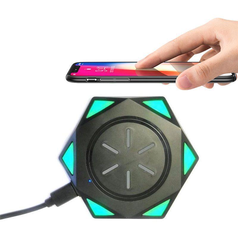 Беспроводное Зарядное Устройство Star Drill Wireless Charging BC-18, Цвет Черный