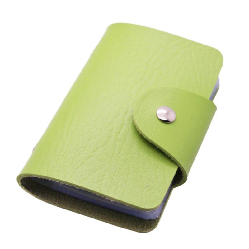 Кредитница-Визитница на 24 карты (цвет зелёный)