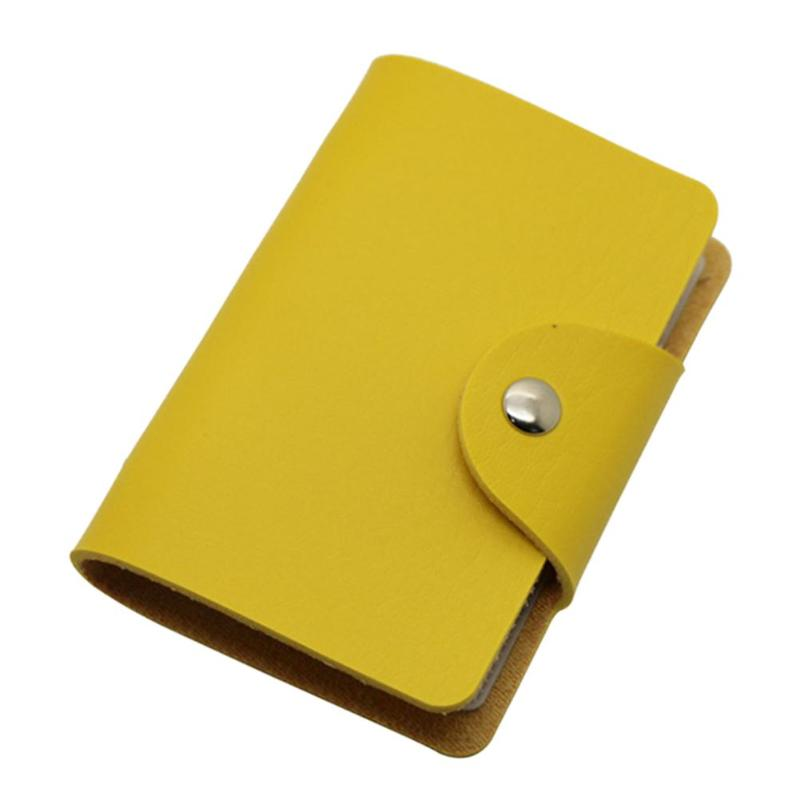 Кредитница-Визитница на 24 карты (цвет жёлтый)