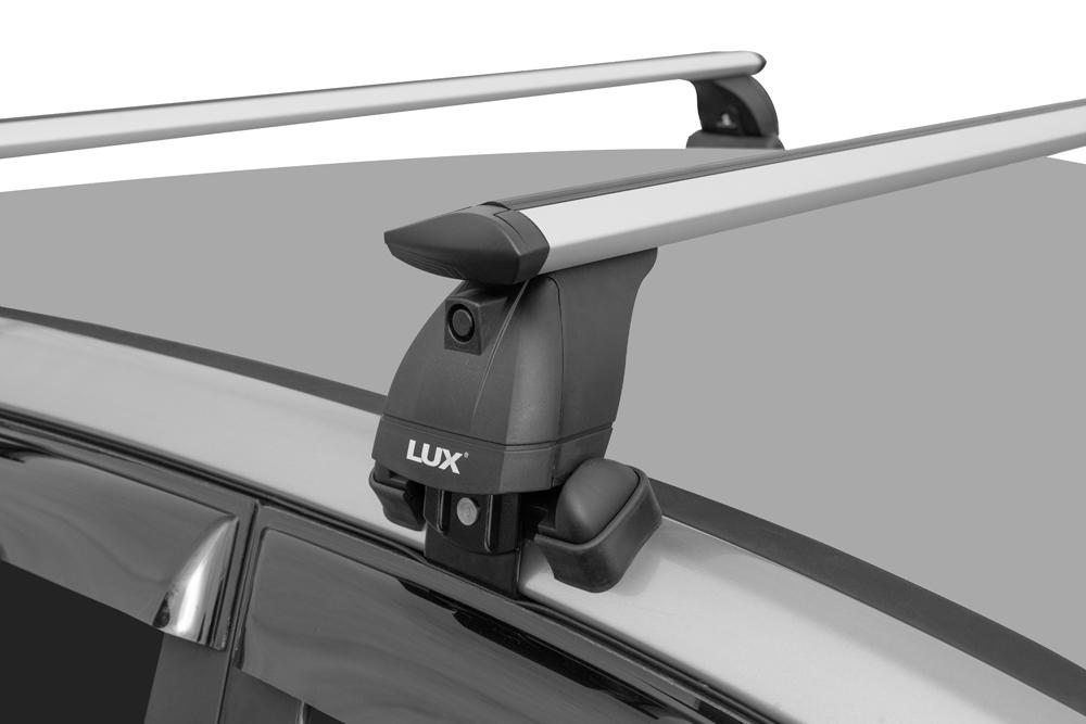 Багажник на крышу Renault Kaptur, Lux, крыловидные дуги
