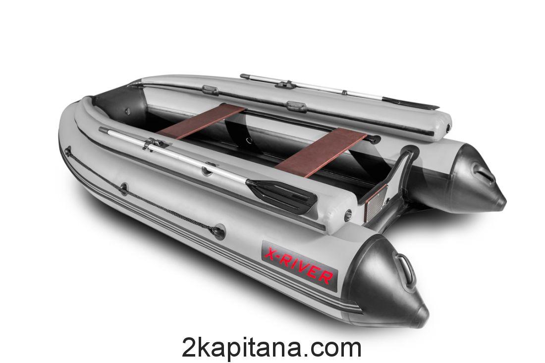 Надувная лодка НДНД AGENT 360 с Фальшбортом