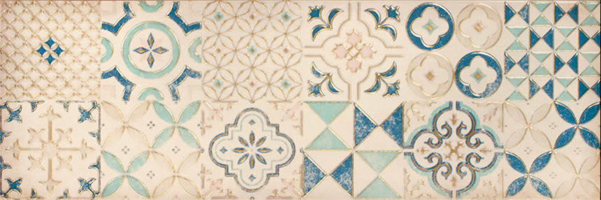 1664-0179 Настенная плитка декор Парижанка 20x60 арт-мозаика