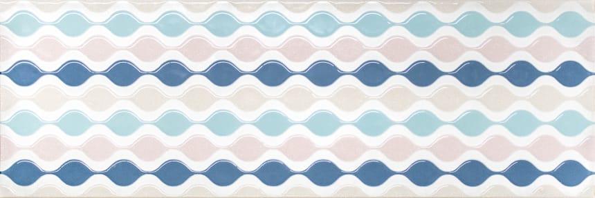 1664-0172 Настенная плитка декор Парижанка 20x60