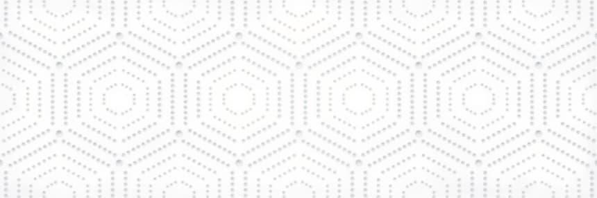 1664-0183 Настенная плитка декор Парижанка 20x60 геометрия белая