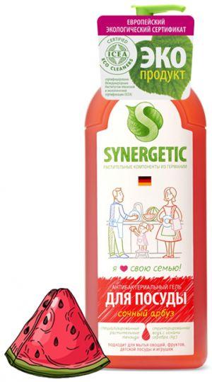 Synergetic Средство для мытья посуды Сочный арбуз 1 л