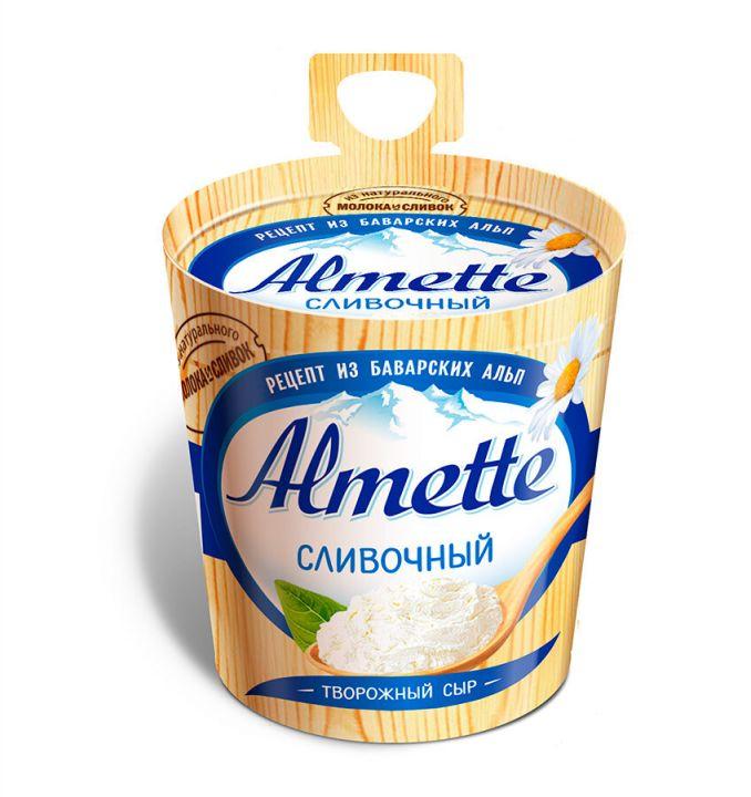 Сыр Альметте творожный сливочный 60% 150г