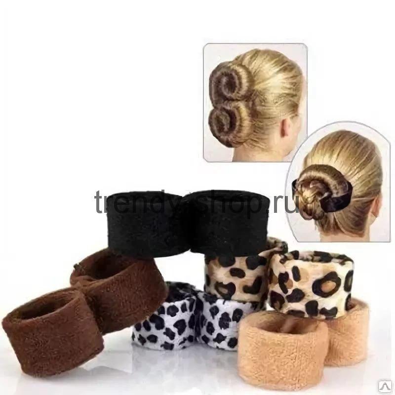 Набор для волос Hairagami Хеагами (комплект 2 шт.) Черный/Коричневый