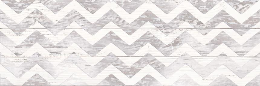 1064-0098 Настенная плитка Шебби Шик декор 20х60 серая