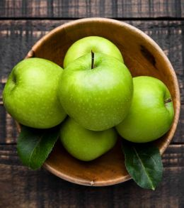 Яблоко зелёное