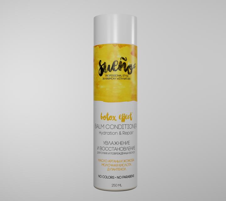 Бальзам-кондиционер «Увлажнение и Восстановление» для сухих и поврежденных волос, 250 мл