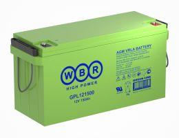Аккумулятор WBR GPL121500А