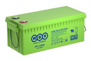 Аккумулятор WBR GPL122000