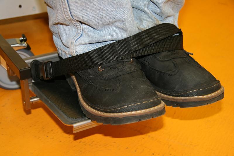 Ремень безопасности ножной для поддержания щиколотки