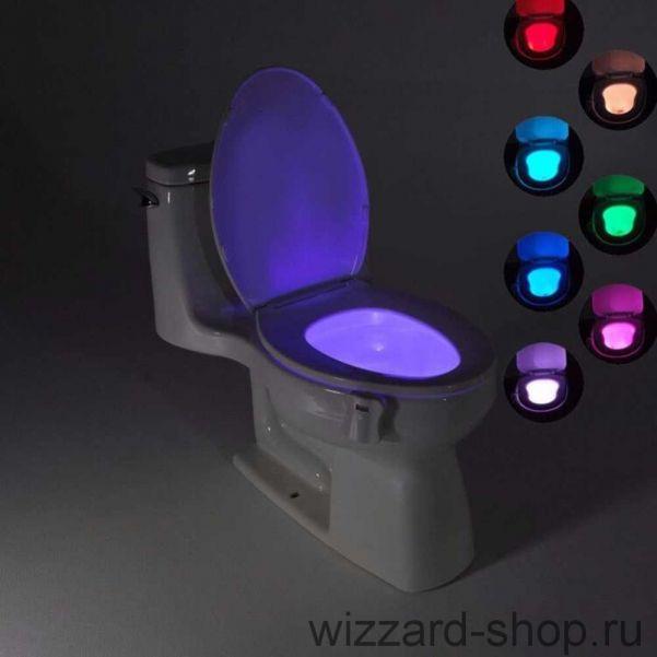 Подсветка для унитаза с датчиком движения Bowl Light